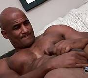 Toned Black Man Pleases Himself With Jerk Off 2