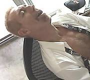 Hairy gay tight abs gay sucking black pole