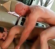 Toned Bald Guy Fucks His Hot Friend 2