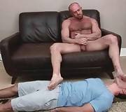 Muscled Bear And Tough Dude Enjoy Oral 1