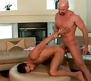 Toned Bald Guy Fucks His Hot Friend 1