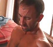 Hairy Daddy Attacks Horny Muscled Bull 2