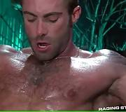 Two Muscled Dudes Are Fucking Hard 2