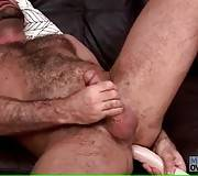 Mature Bear Jake Jennings Jerks On Camera 2