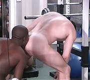Tough Friends Get Horny In Gym 2