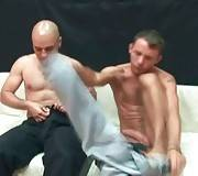 Tough Friends Enjoy Nice Blowjob 1